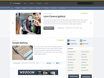 TechCompass Wordpress Theme