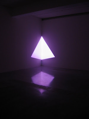 Light and space scupture by artist James Turrell