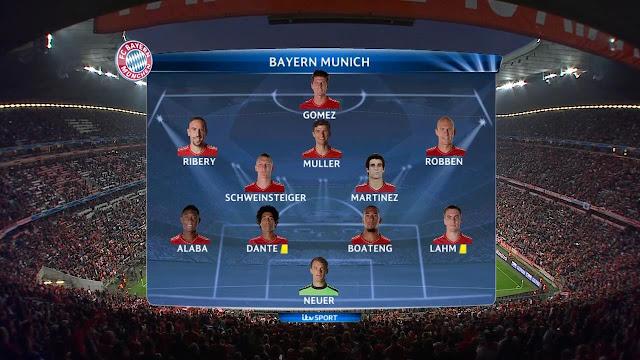 Bayern Munich v Barcelona
