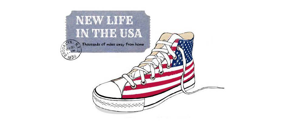 New life in the United States of America