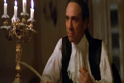 F. Murray Abraham as Antonio Salieri  in Amadeus, 1984 musical, Directed by Milos Forman