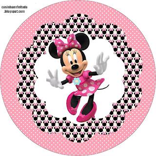 kit festa minnie rosa para imprimir grátis