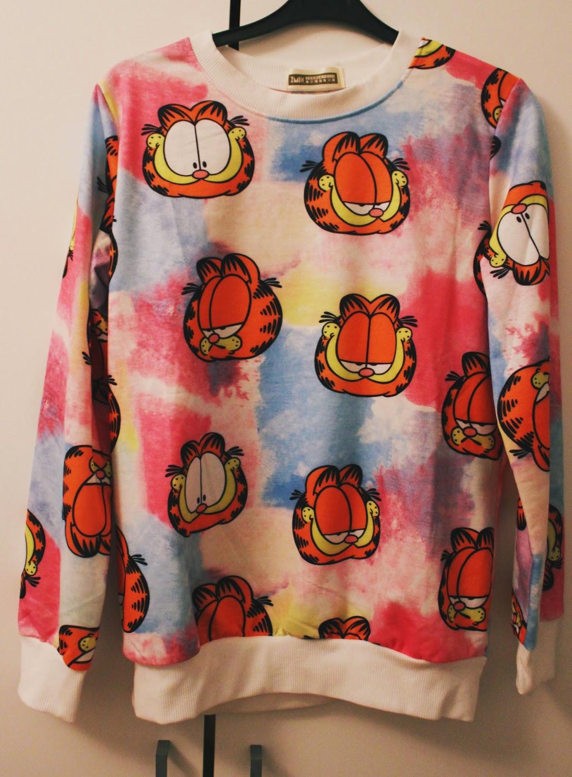 Garfield Sweater harajuku Taobao