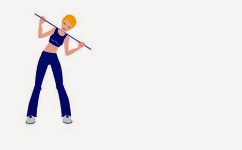 bài thể dục thẩm mỹ giảm mỡ bụng tại nhà