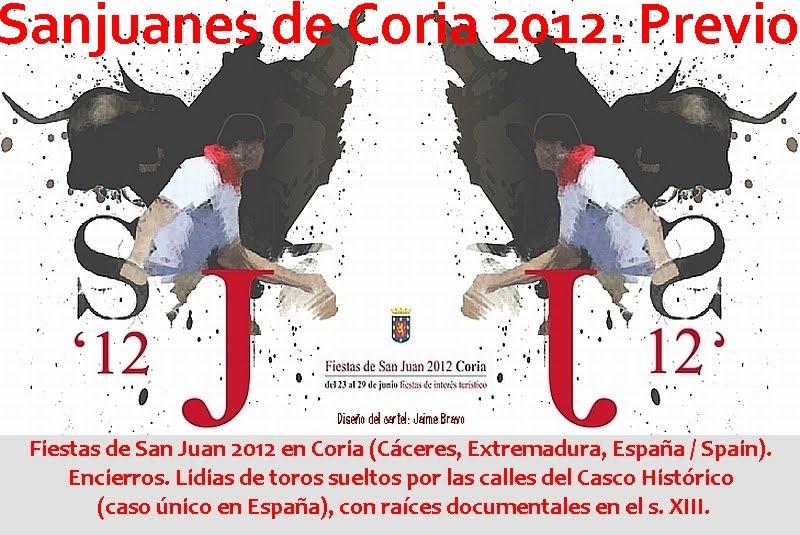 Sanjuanes de Coria 2012. Previo.