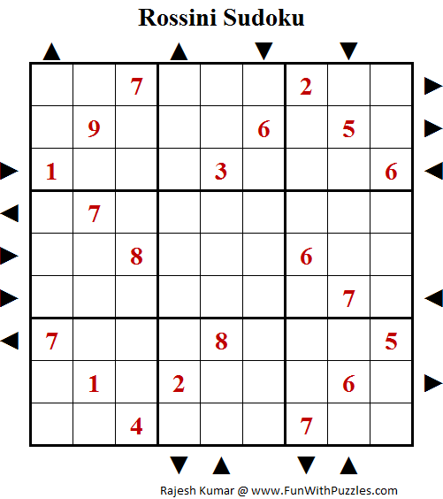 Rossini Sudoku (Fun With Sudoku #118)