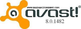 Capa Baixar Avast Pro Antivirus 2013 v8.0.1482 Final + Licença   Torrent Baixaki Download