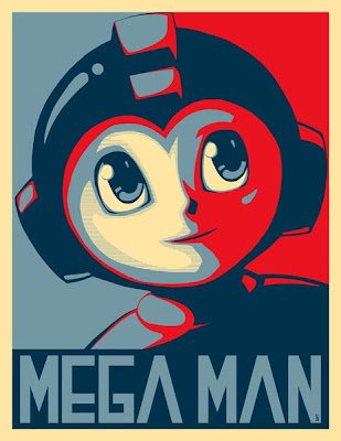 Pop Art Mega Man