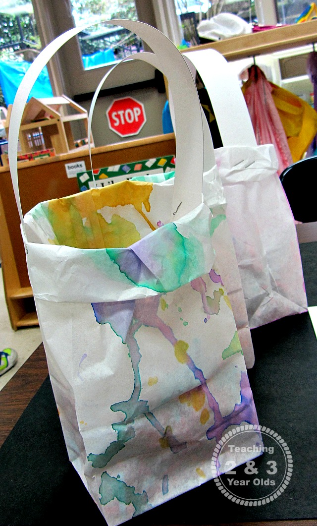 preschool Easter bag