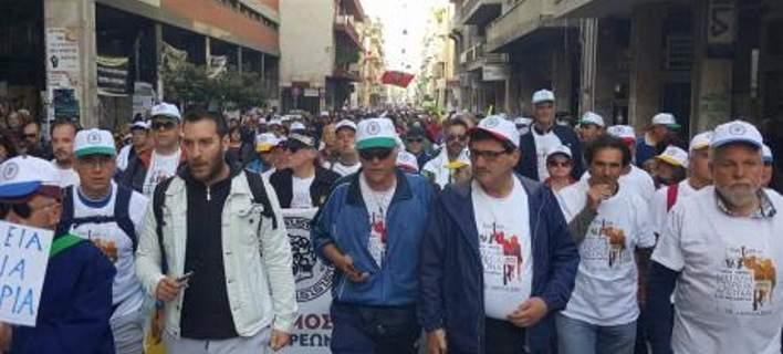 Ξεκίνησε η επταημέρη πορεία των Πατρινών για Αθήνα- Μαζική συμμετοχή