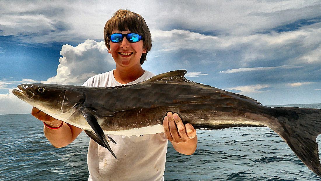 Georgia offshore fishing bottom fishing fishing in for Triple tail fish recipes
