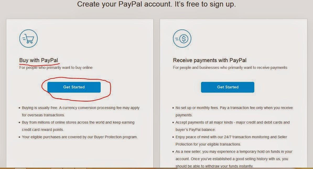 Cara Mudah Membuat Paypal Gratis 2015