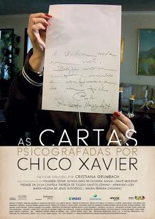 Filme Poster As Cartas Psicografadas Por Chico Xavier DVDRip XviD & RMVB Nacional