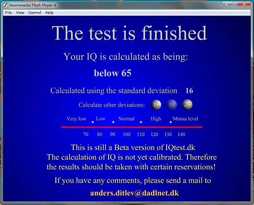 Tes IQ dan Ketelitian Anda menggunakan Software ini