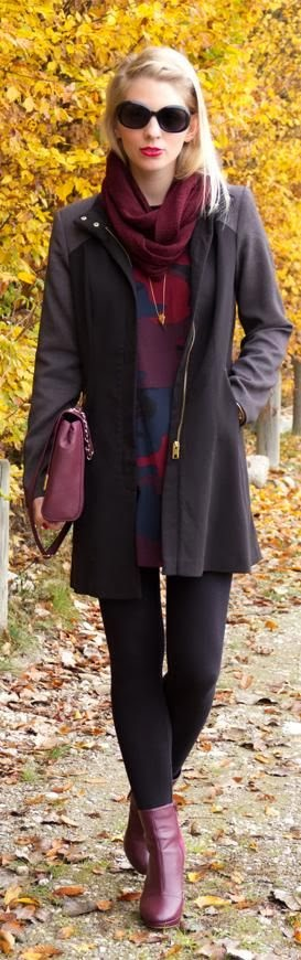 Beautiful Black Long Coat