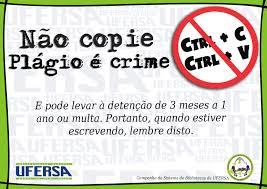 Veja porque Não copie Plágio é crime