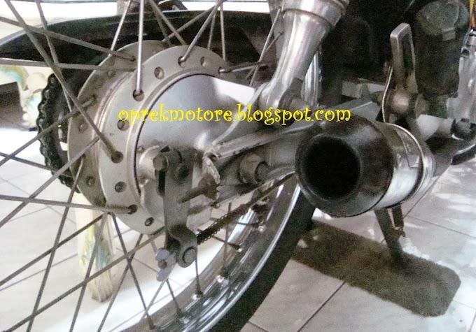 Pasang Baut Kupu di Honda Karisma X/Supra X 125