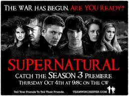 Assistir Supernatural 3 Temporada Online Dublado e Legendado