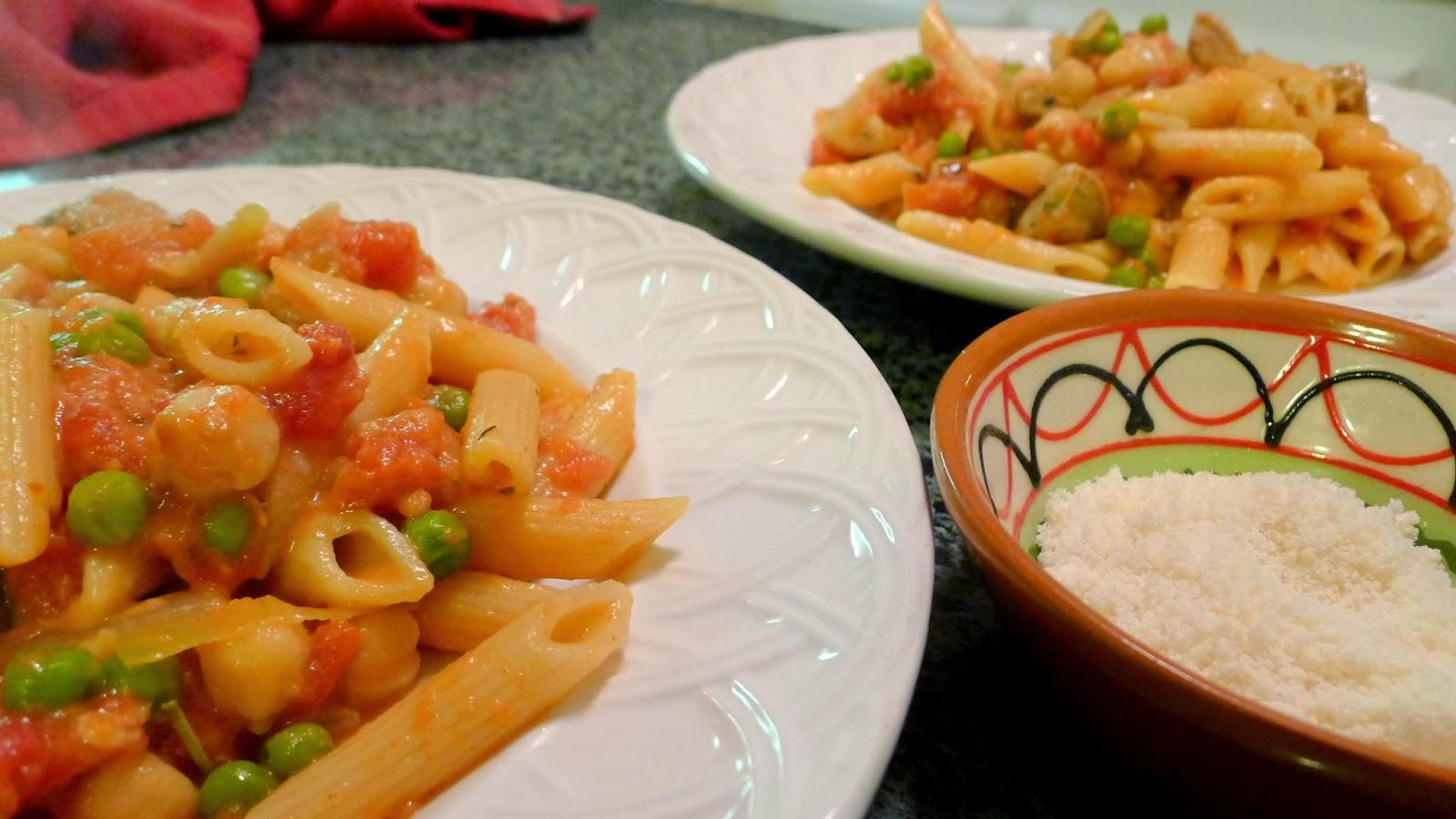 Pasta recipe from pantry staples