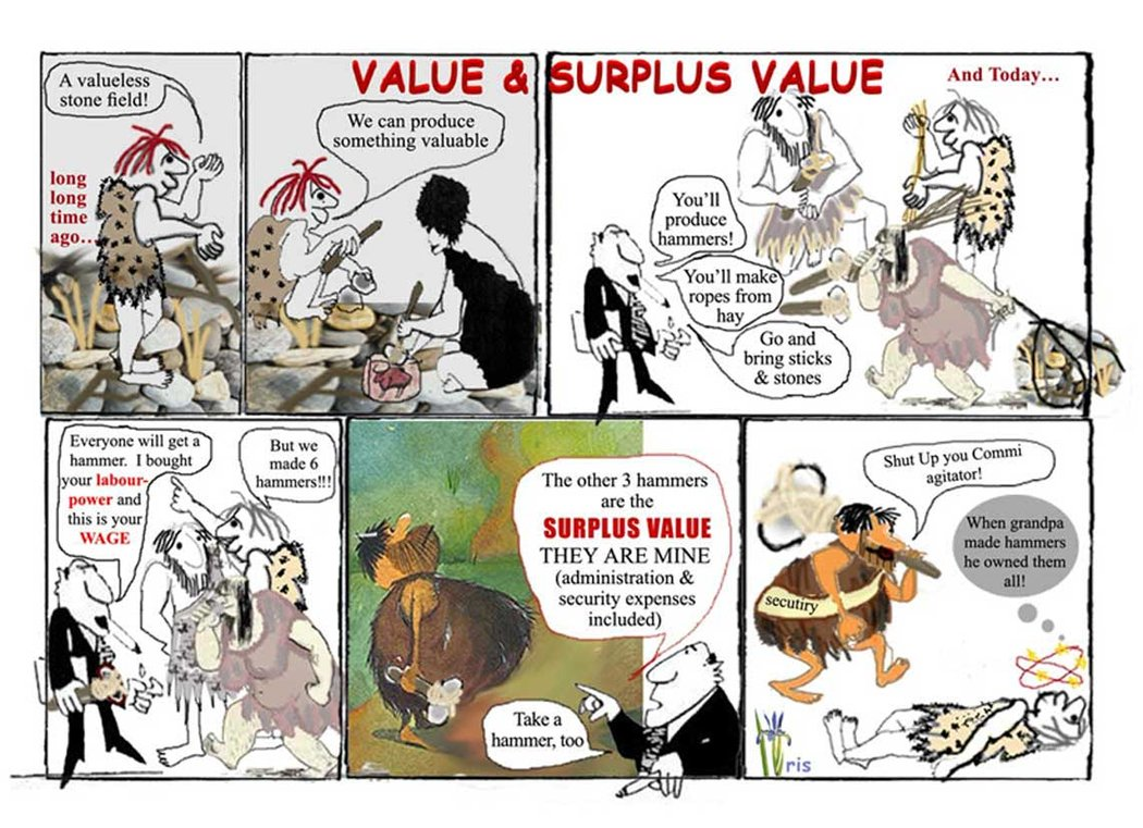 the labor theory of surplus value Marxian surplus-value theory karl marx accepted ricardo's labour theory of value (that the value of a product is based on the quantity of labour that went into producing it), but he subscribed to a subsistence theory of wages for a different reason than that given by the classical economists.