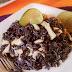 Receta de arroz negro con pollo