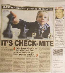 """Classy: A top chess player at the age of six"""