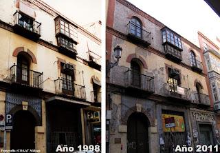 Edificio Histórico llevado a la ruina en Calle Casapalma 7, Centro Histórico de Málaga