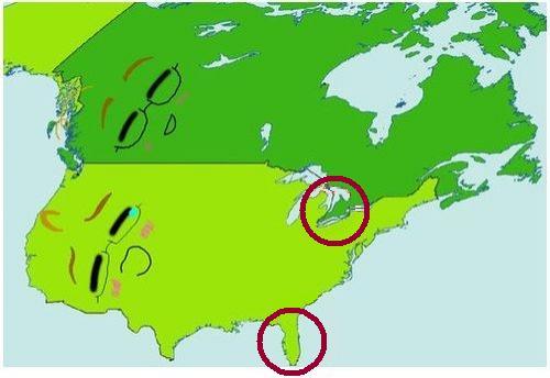 Canada TexAgs - Canada vs us map