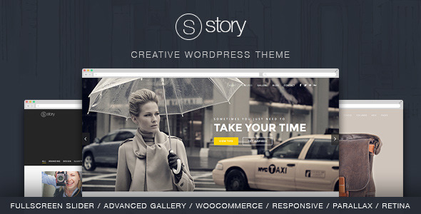 Free Download Story V1.8.0 - Creative Responsive Multi-Purpose Wordpress Theme