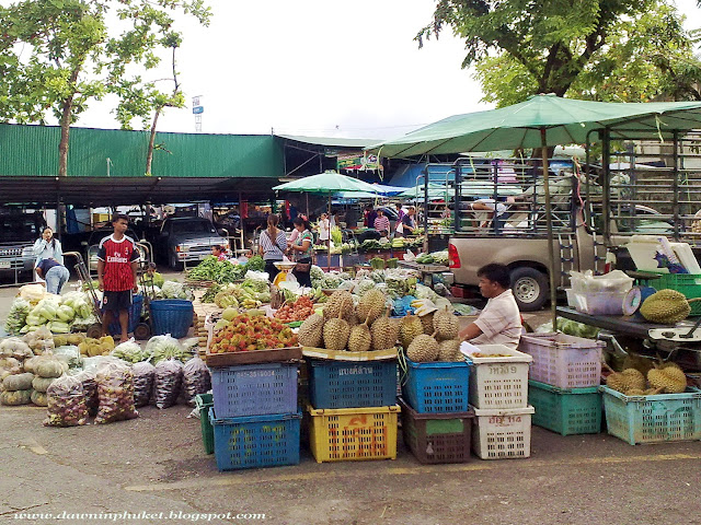Markets in Phuket