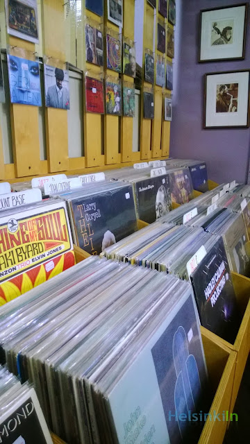 LPs and CDs at Digelius