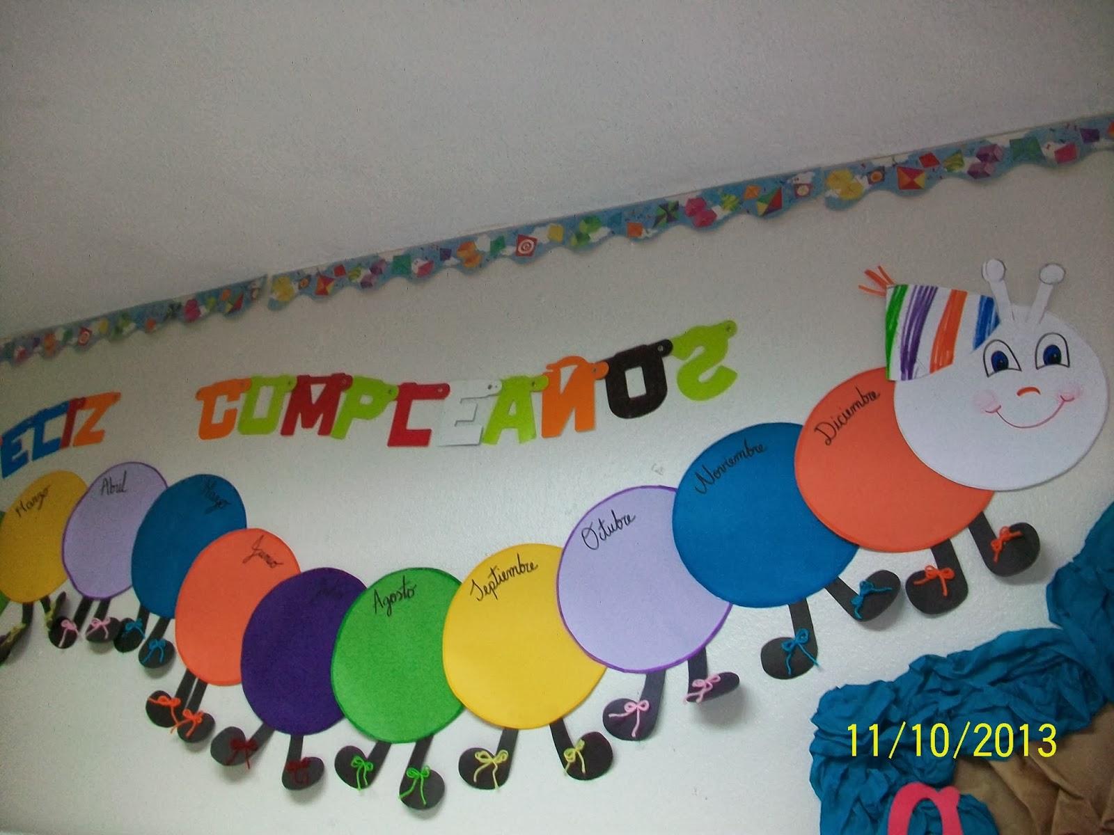 Decoraci n para el aula gu a de educaci n infantil for Decoracion de espacios de preescolar