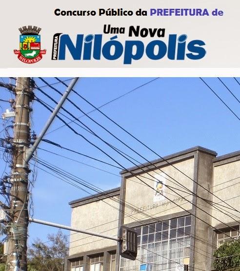 Edital  Concurso prefeitura Nilopolis 2014.