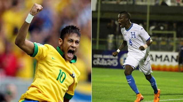 Brasil vs Honduras en vivo