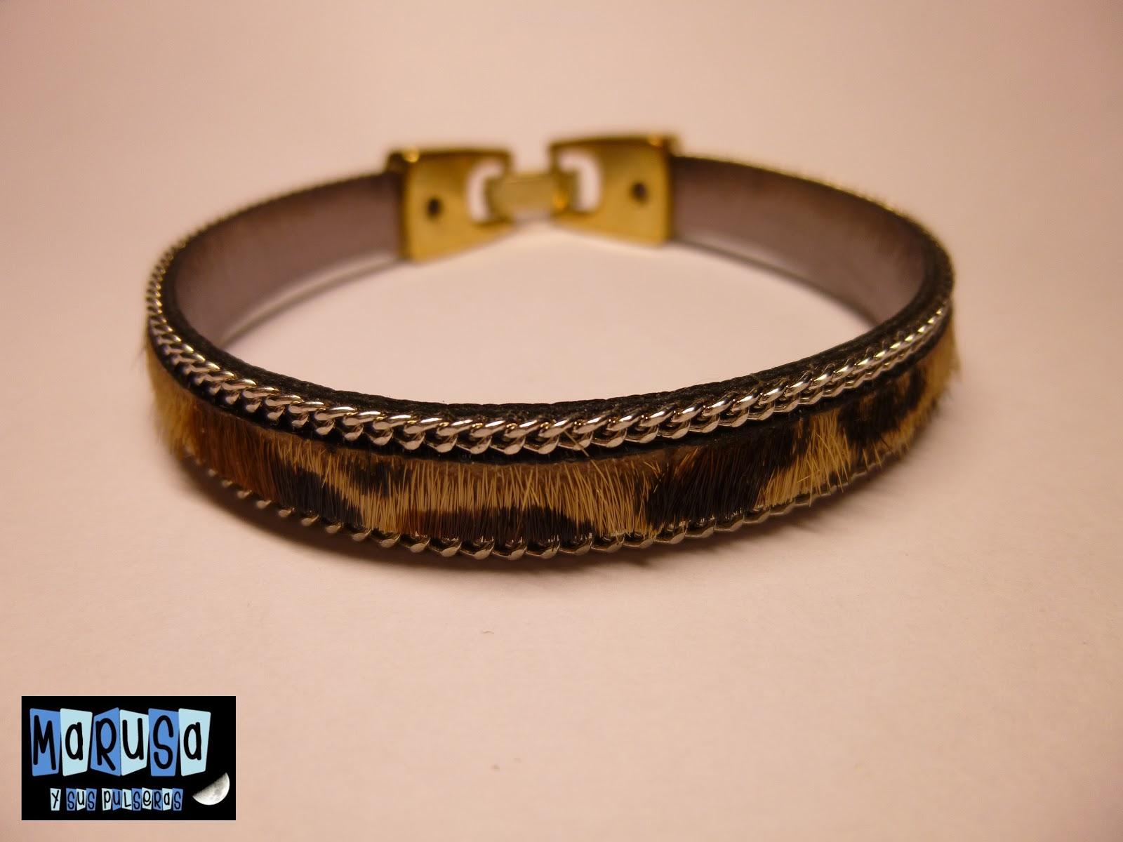 pulsera piel marusa potro bonita original barata € regalo reyes madre novia
