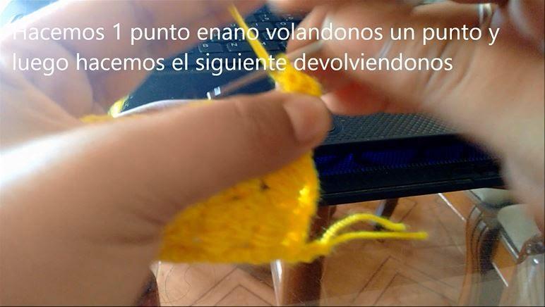 Puntada de Crochet Paso 13
