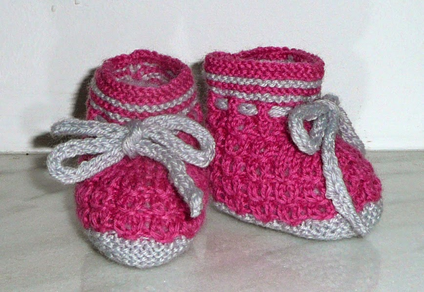 Botosei tricotati 0-2 ani