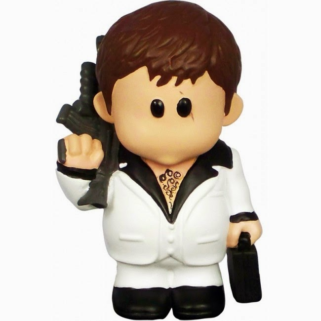 Mini Figura Tony Montana Scarface