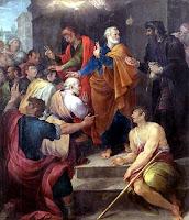 Pemberian Roh Kudus melalui Penumpangan Tangan