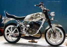 modifikasi motor yamaha rx king