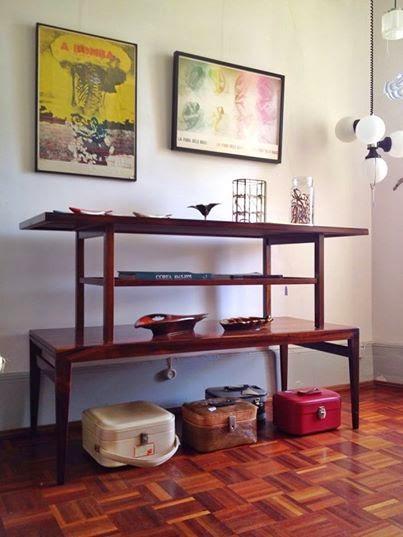 vintage, nórdico, design nórdico, móveis, mesas de apoio longas