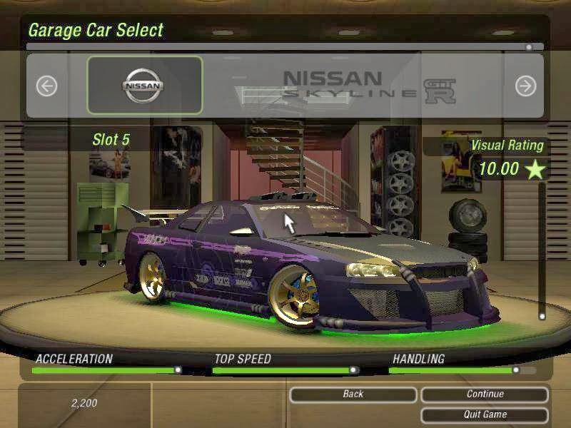 Need For Speed Underground II RIP