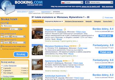 Apartamenty w Warszawie na Booking.com