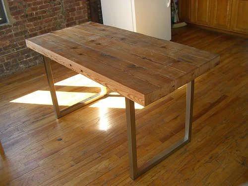 Tú Preguntas! Dónde comprar una mesa de comedor de madera envejecida ...