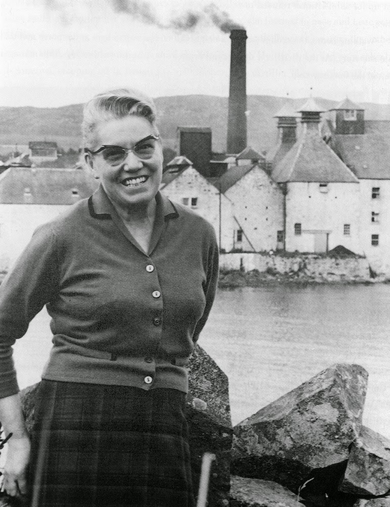 Bessie Williamson of Laphroaig Scotch