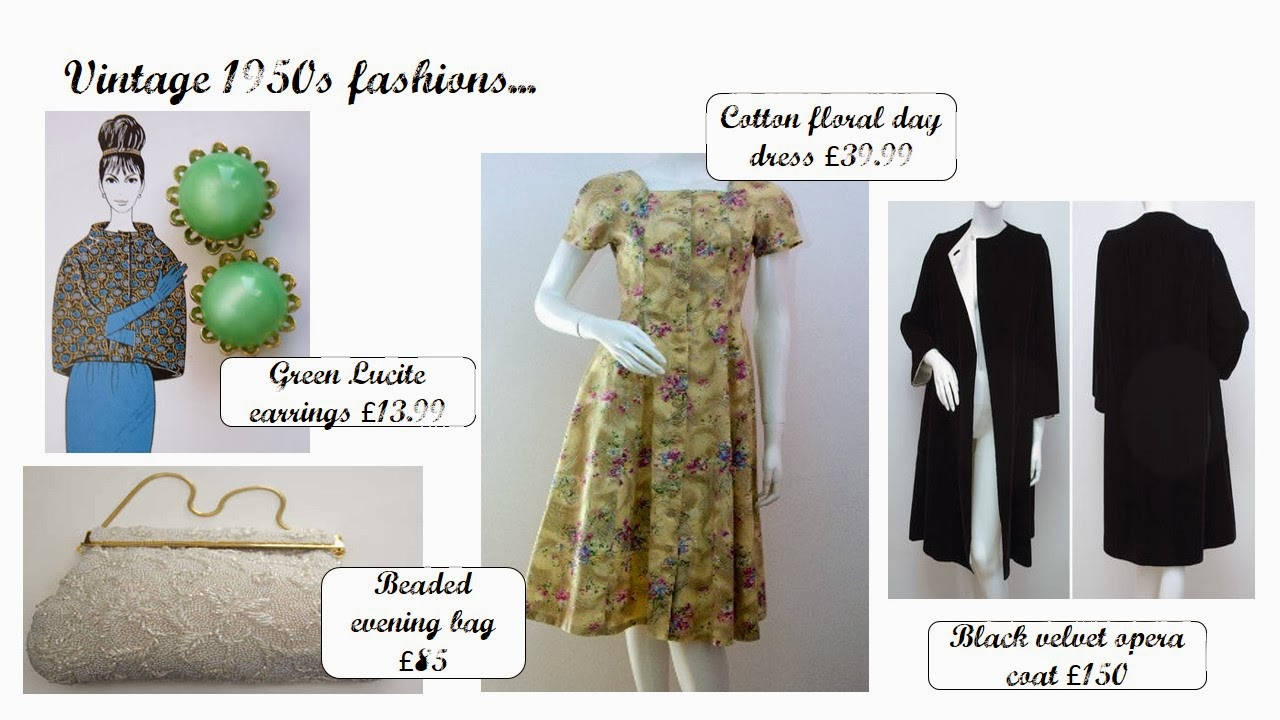 1950s fashions from Catwalk Creative