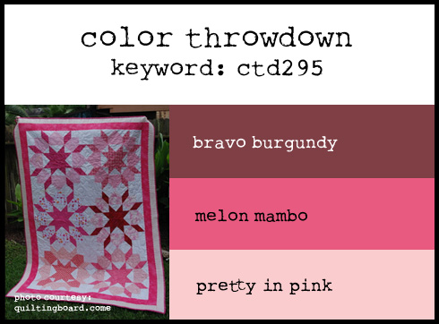 http://colorthrowdown.blogspot.com/2014/06/color-throwdown-295.html