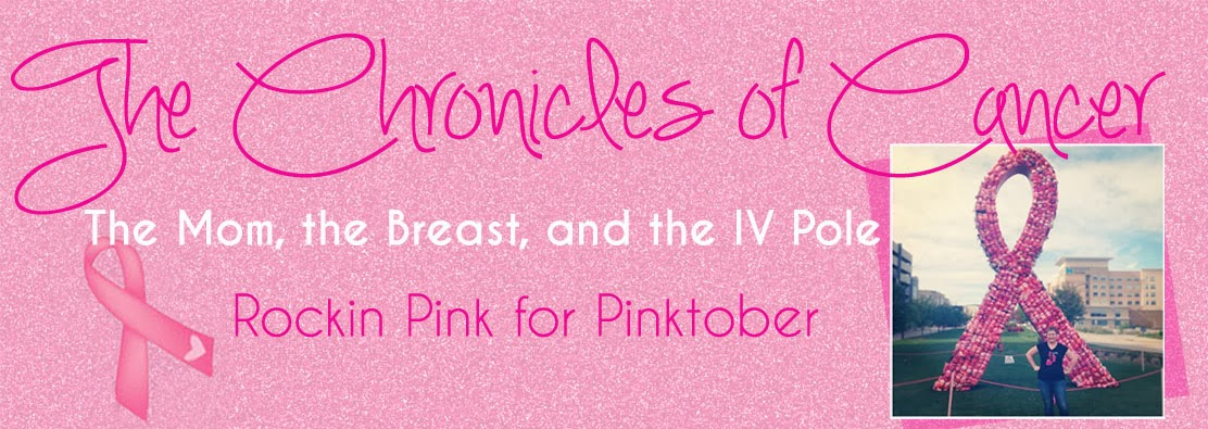 The Chronicles of Cancer: The Mom, the Breast and the IV Pole