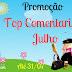 Promoção Top Comentarista Julho
