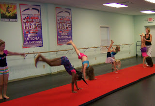 charlotte gymnastic lessons kids